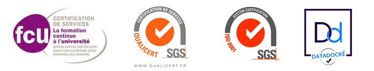 Logo certification formation professionnelle continue