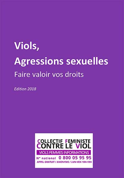 Couverture du livret juridique : Viol, agressions sexuelles. Faites valoir vos droits