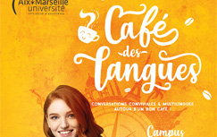 Affiche café des langues aix