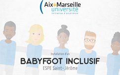 Baby foot inclusif