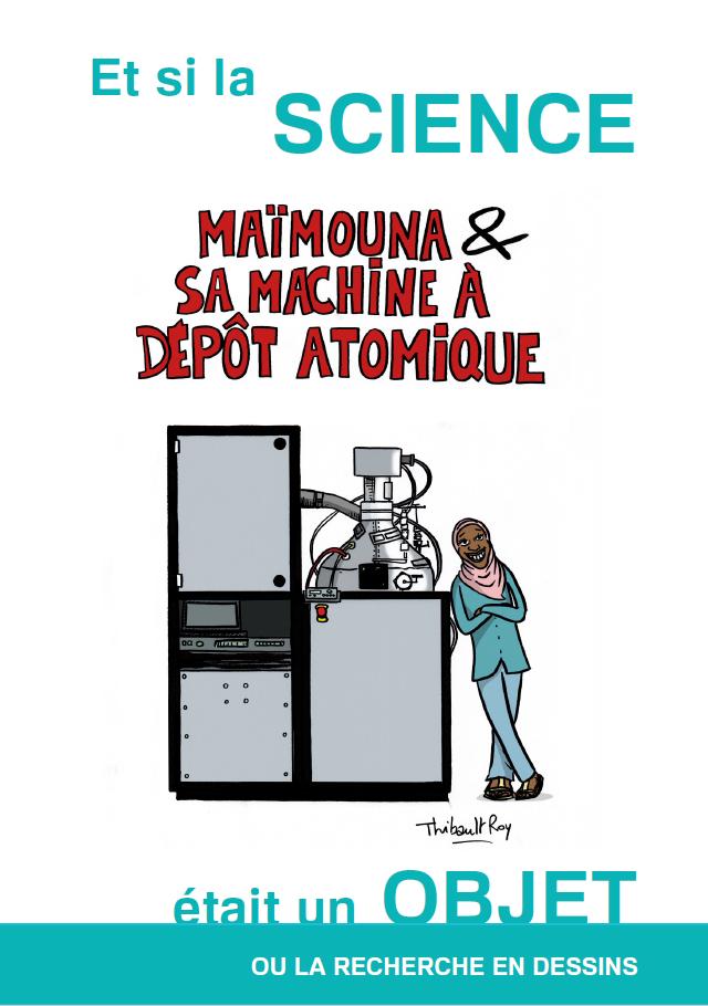 Maimouna et sa machine à dépôt atomique
