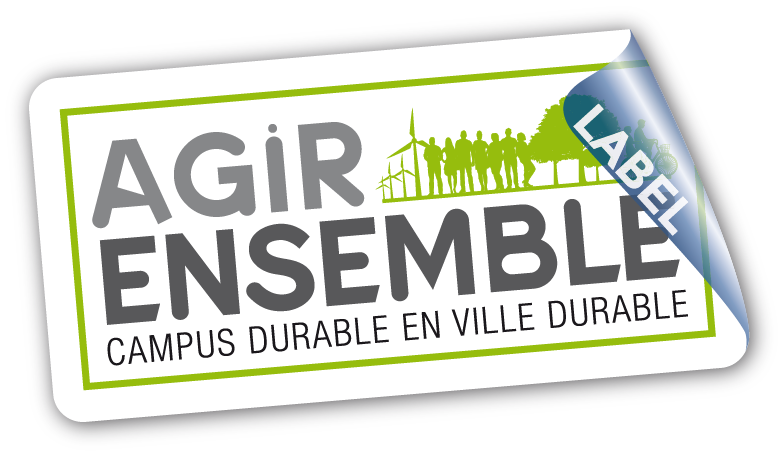 "Logo du label ""Agir Ensemble"""