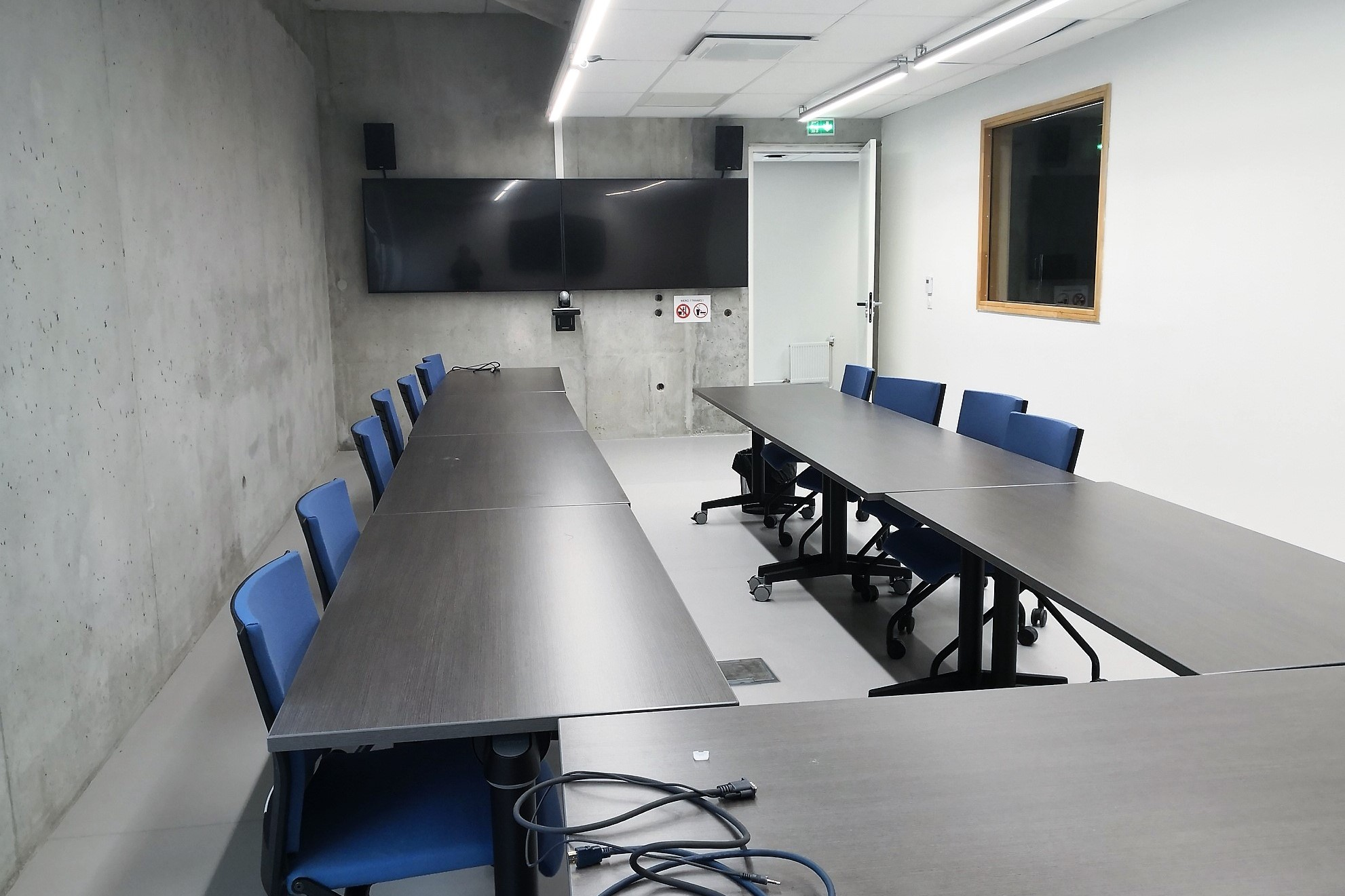 Salle visioconférence Hexagone