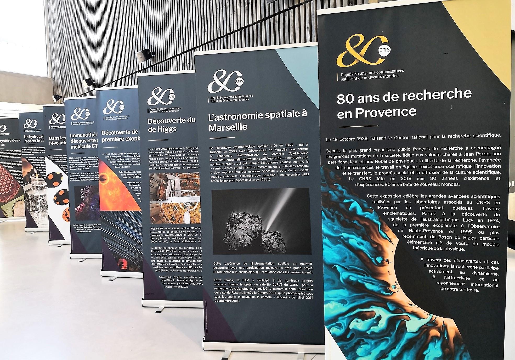 Image Kakemonos 80 ans du CNRS en Provence