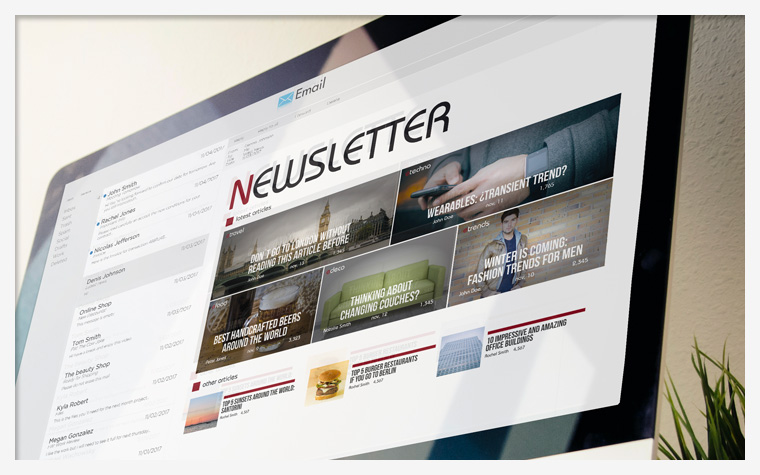 INCIAM - Tuile - Newsletter