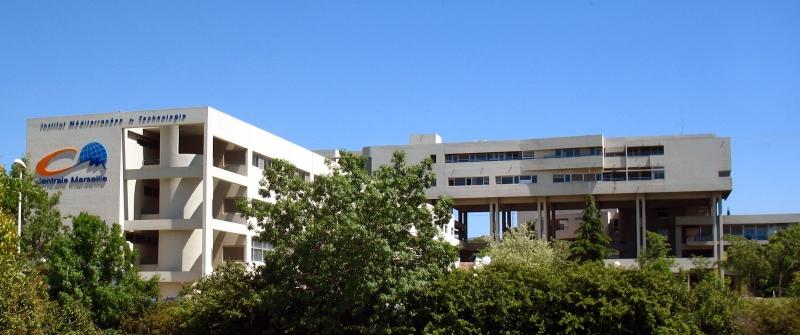 photo campus Ecole Centrale Marseille