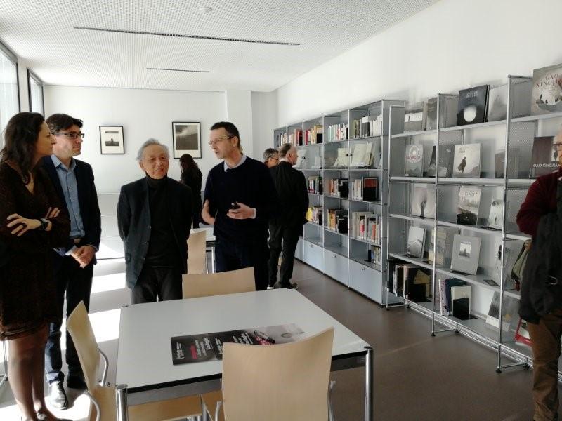 Installation officielle de l'Espace de Recherche et de Documentation (ERD) Gao Xingjian dans la nouvelle BU des Fenouillères d'AMU – Février 2018
